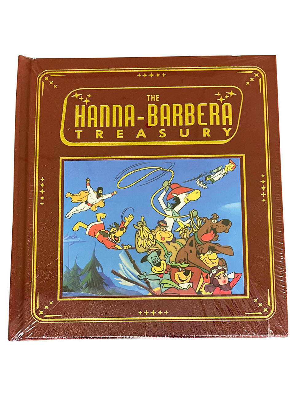 "Jerry Beck ""The Hanna-Barbera Treasury"" Deluxe Limited Edition, Leather Bound Collector's Edition [Sealed]"