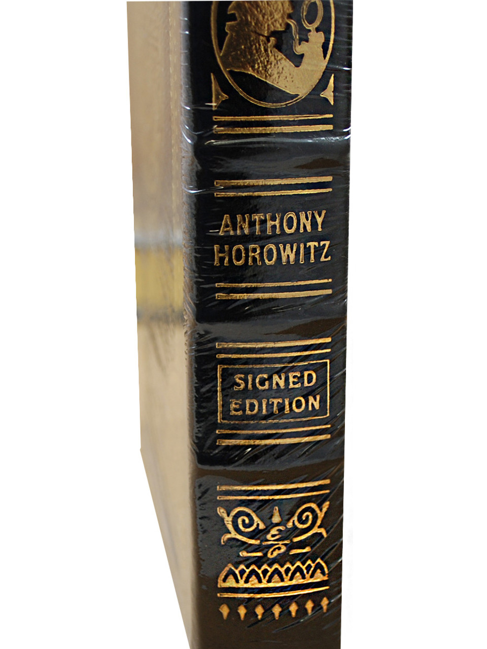 """Anthony Horowitz """"The House of Silk"""", """"Moriarty"""" Signed Limited Edition, 2-Vol Matching Collector's Set w/COA [Sealed]"""