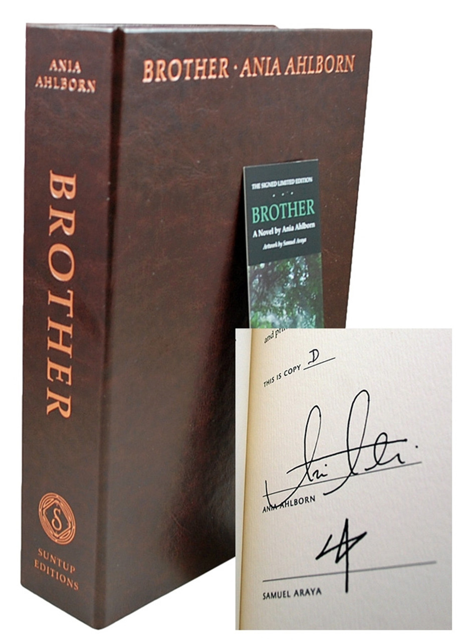 """Suntup Press - Ania Ahlborn """"Brother"""" Signed Lettered Edition of only 26, Leather Bound Collector's Edition Tray-cased [Very Fine]"""