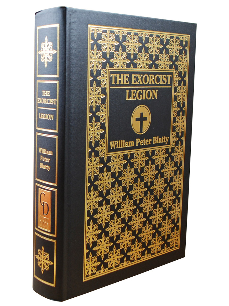 """William Peter Blatty """"The Exorcist - Legion"""" Signed First Limited Edition Printing No. 235 of 750 Slipcased [Very Fine]"""