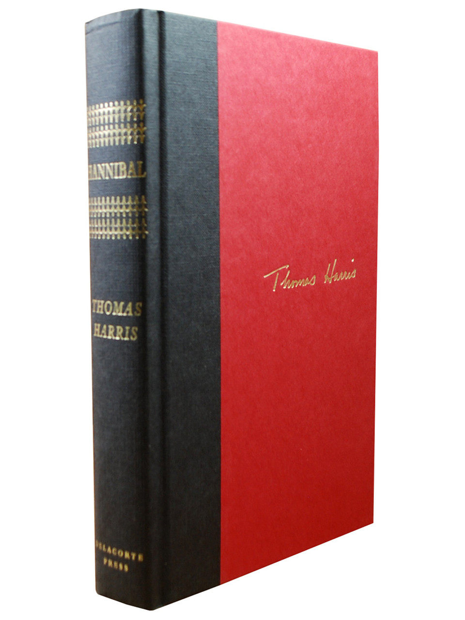 """Thomas Harris """"Hannibal"""" Signed First Edition, First Printing w/COA  [Very Fine]"""