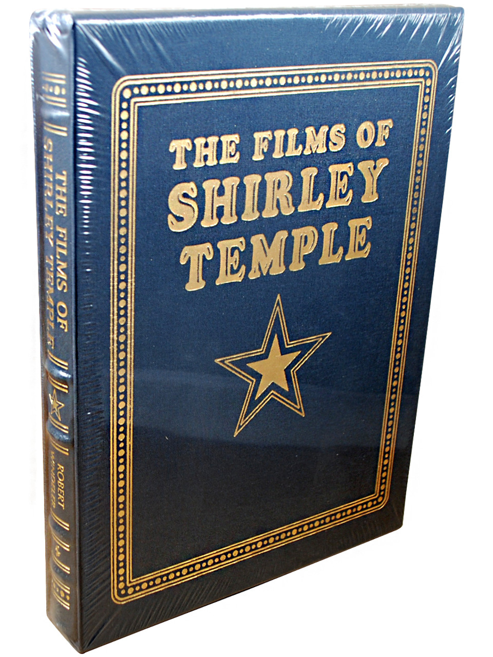 """Robert Windeler """"The Films of Shirley Temple"""" Deluxe Leather Bound Collector's Edition, Limited Edition of 1,928 Numbered Slipcased [Sealed]"""