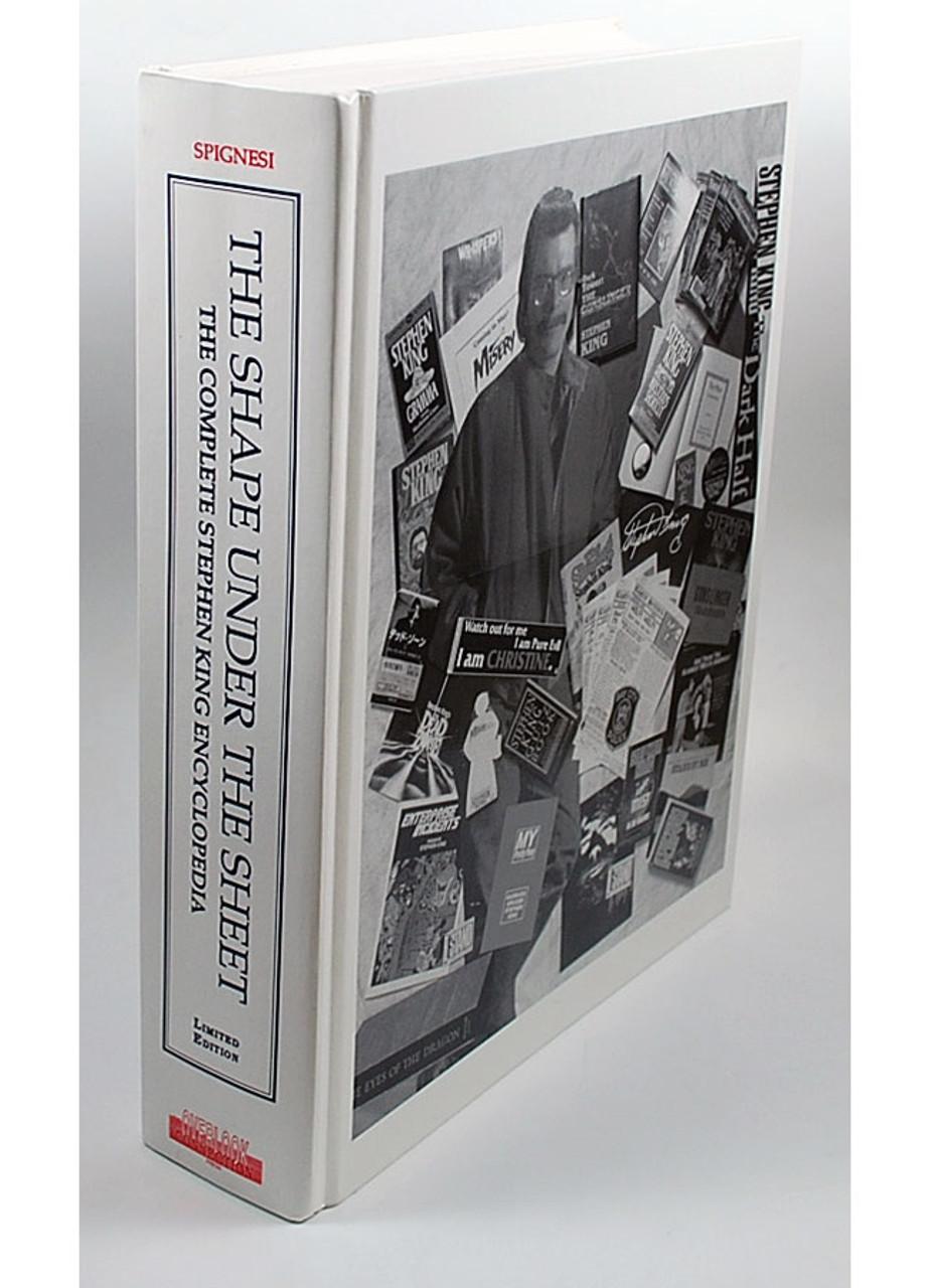 """Stephen J. Spignesi """"The Shape Under The Sheet"""" Signed Lettered Edition of only 26,  Slipcased"""