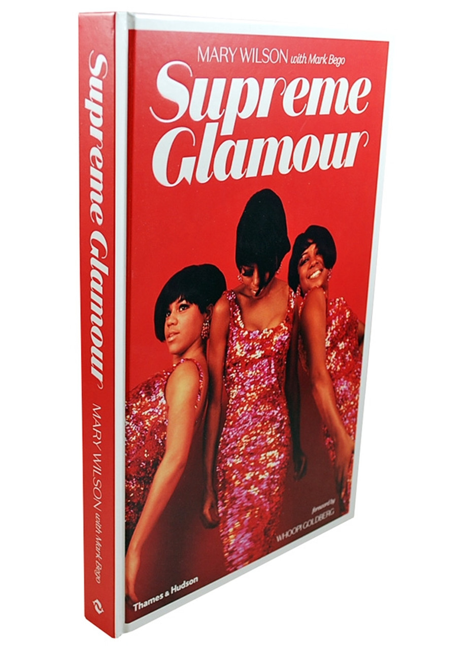 """""""Supreme Glamour"""" Mary Wilson Signed First Edition"""