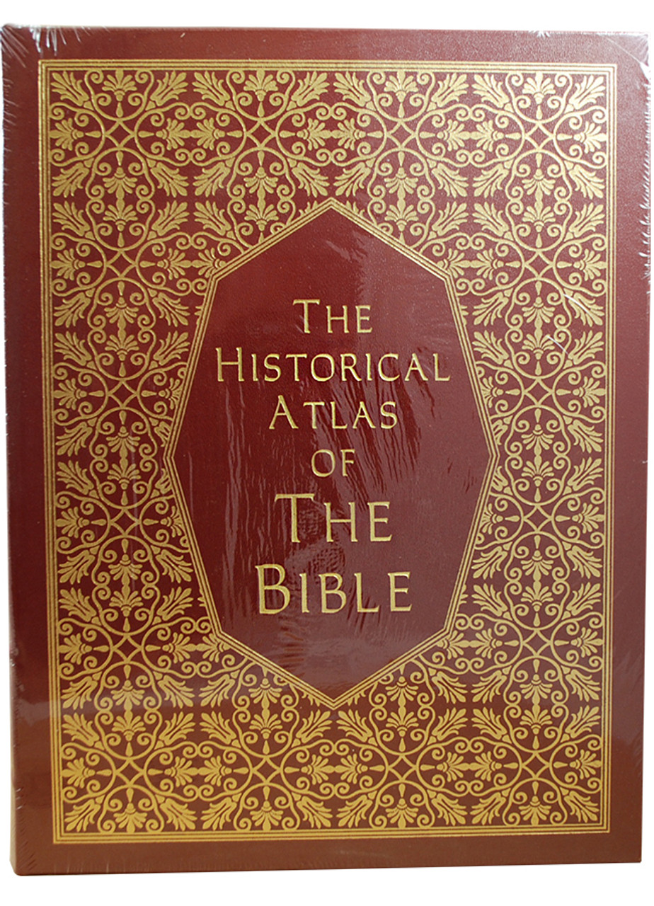 """Ian Barnes """"The Historical Atlas of The Bible"""" Deluxe Limited Edition,  Leather Bound Collector's Edition [Sealed]"""