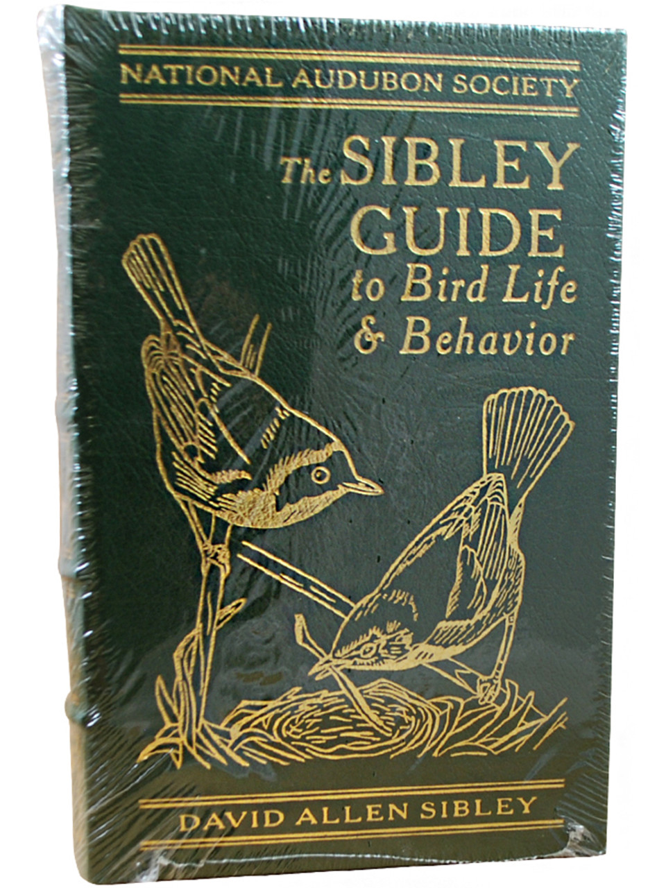 """Easton Press """"The Sibley Guide To Birds"""" Signed Limited Edition, Leather Bound Collector's Edition, 2 Vol. Matched Set [Sealed]"""