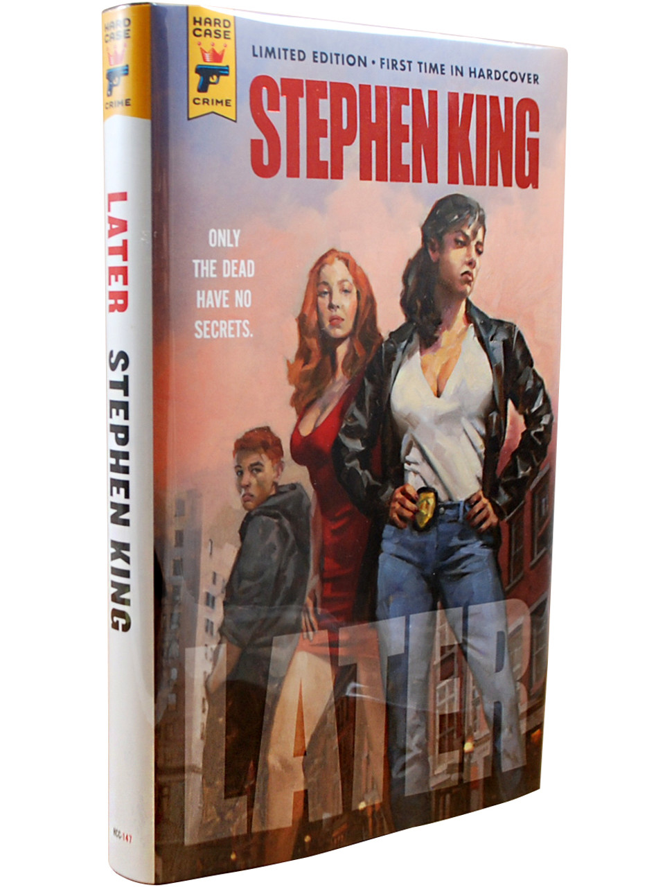 """Stephen King """"LATER"""" First Edition, Slipcased Limited Edition [Sealed]"""
