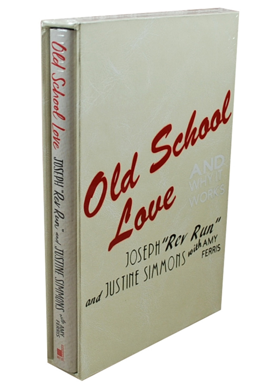 """Joseph """"REV RUN"""", Justine Simmons """"Old School Love"""" Signed First Edition / First Printing, Slipcased w/COA [Sealed]"""