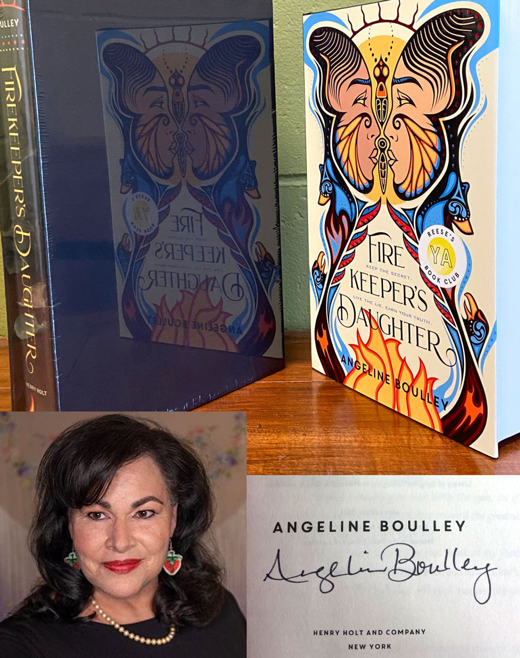 """Angeline Boulley """"Firekeeper's Daughter"""" Signed First Edition, Later Printing, Slip-cased Limited Edition of 40 w/COA [Sealed]"""