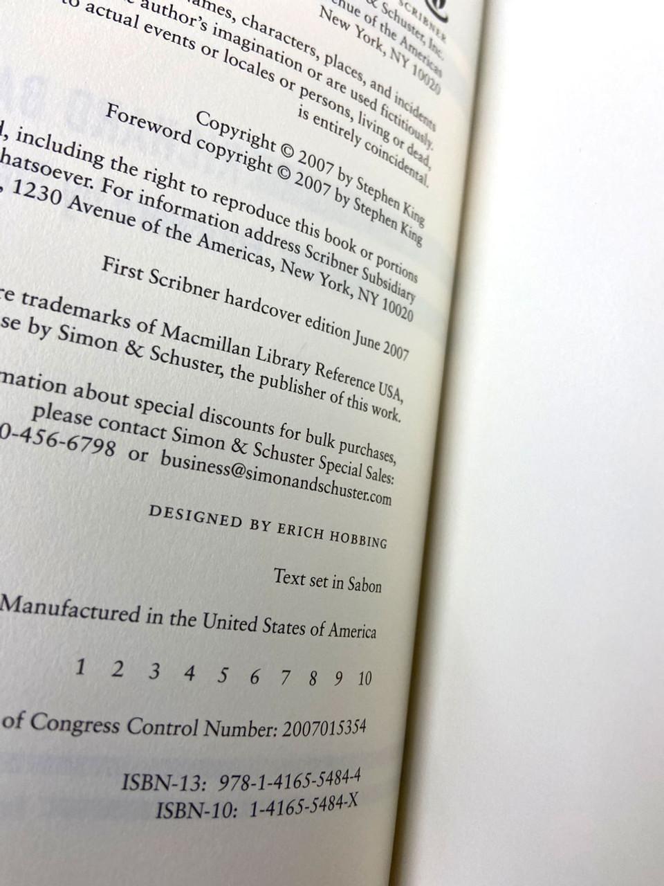 "Stephen King (Richard Bachman) ""Blaze"" First Edition, First Printing [Very Fine]"