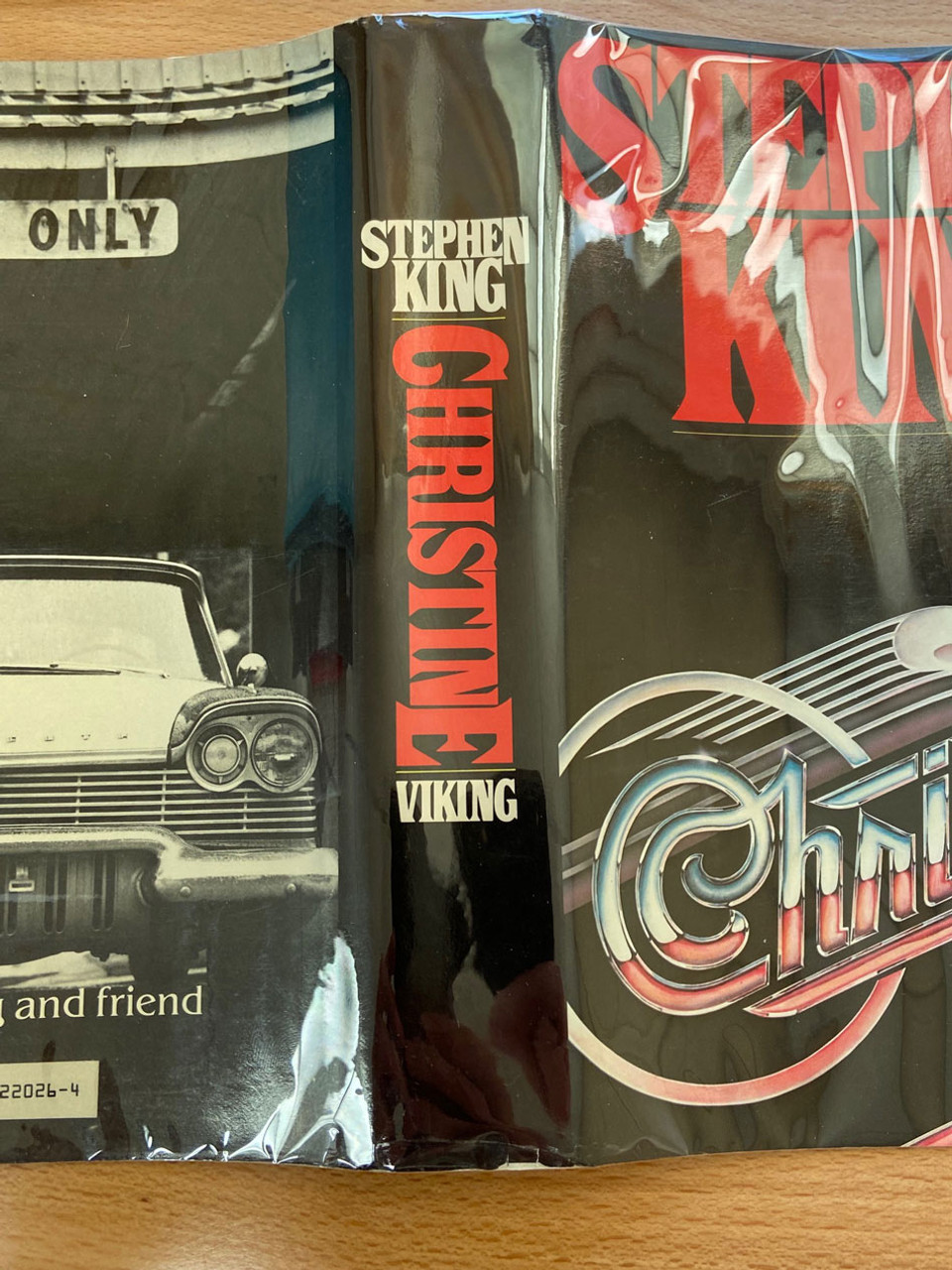 """Stephen King """"Christine"""" First Edition, First Printing, Slipcased [F/NF]"""