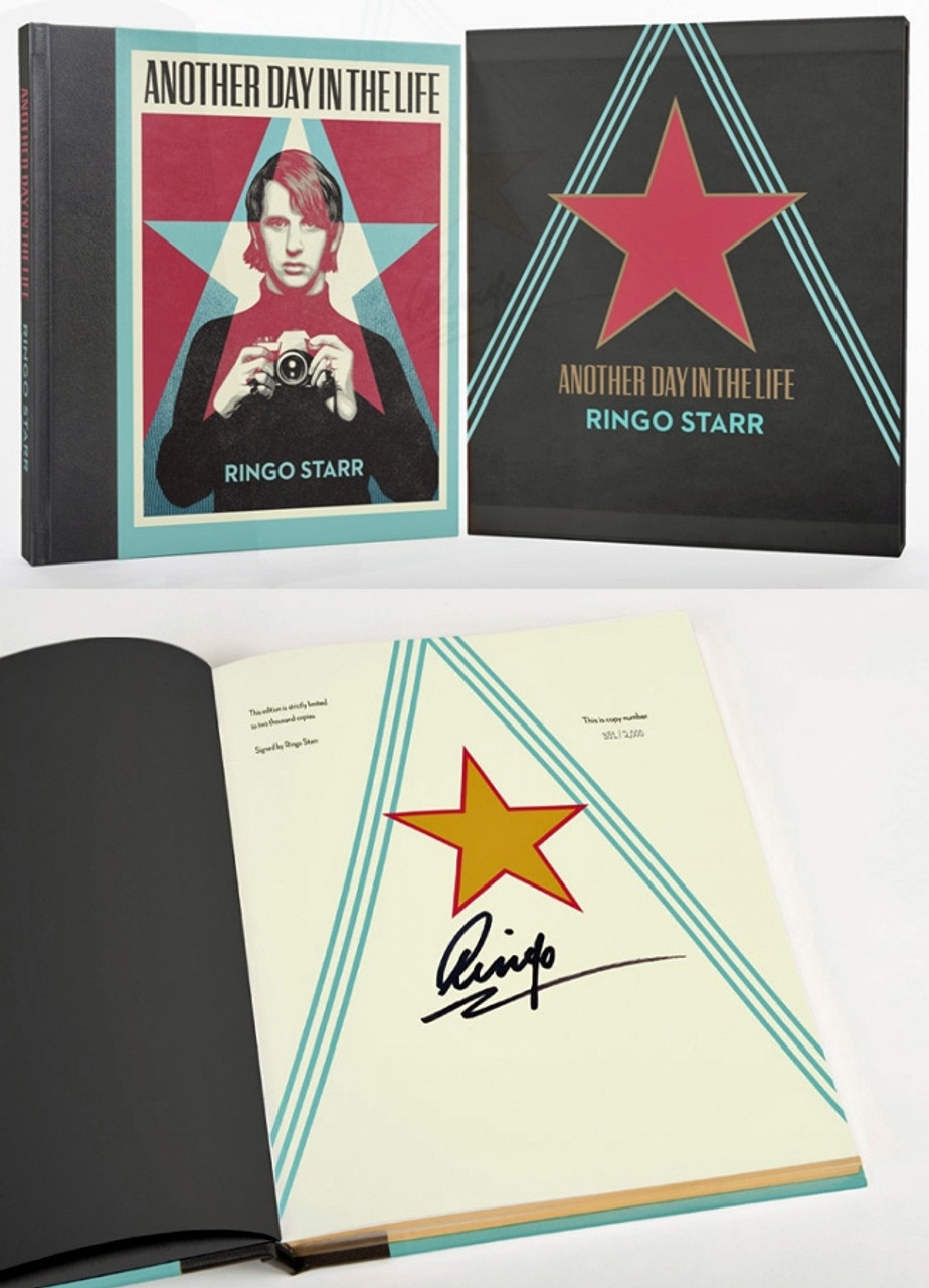 """Ringo Starr """"Another Day in the Life"""" Collector's Signed Numbered Edition of only 1,650 Slipcased [Sealed]"""