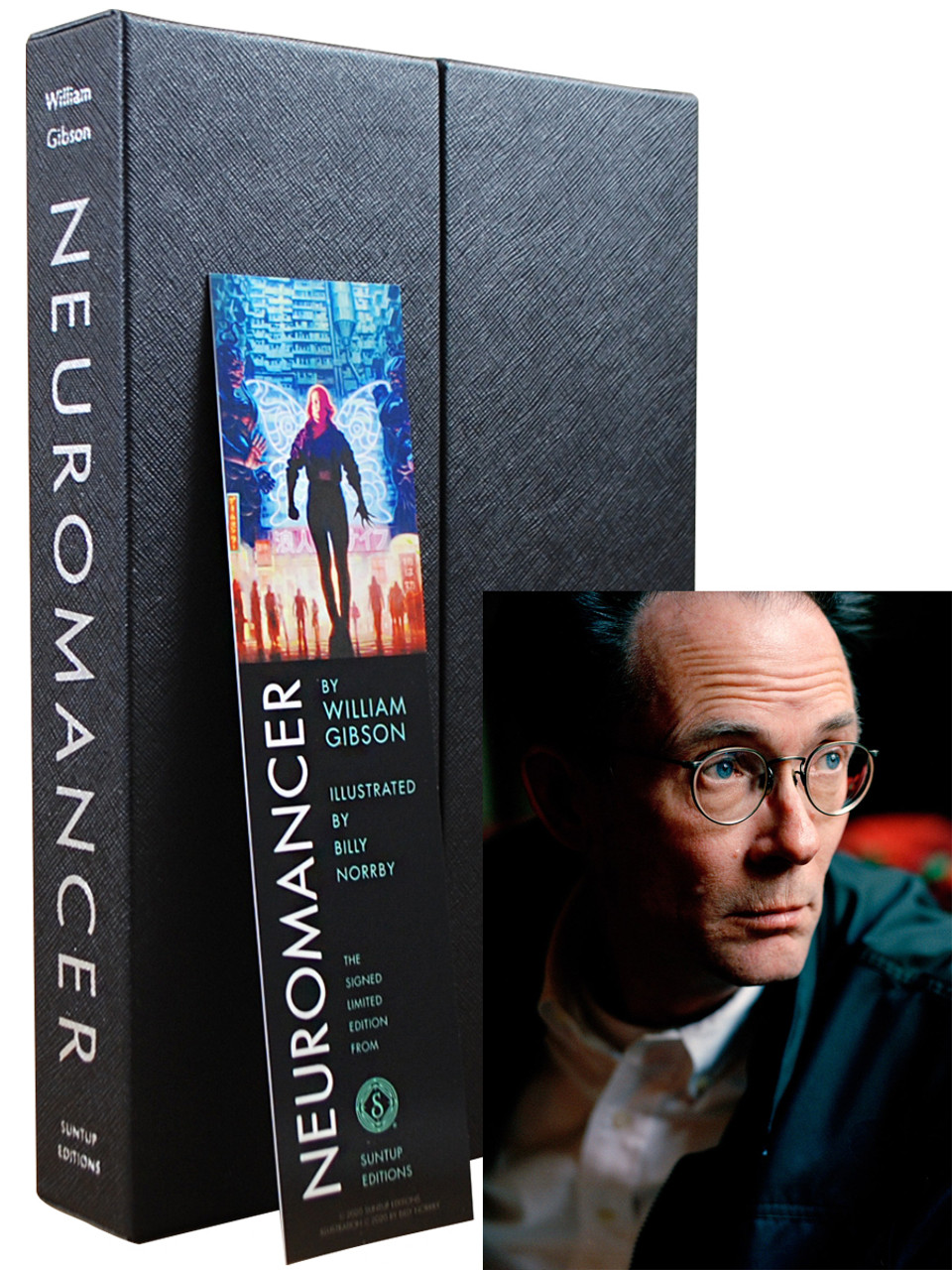 """William Gibson """"Neuromancer"""" Signed Limited Edition, No. 90 of 250 Slipcased [Very Fine]"""