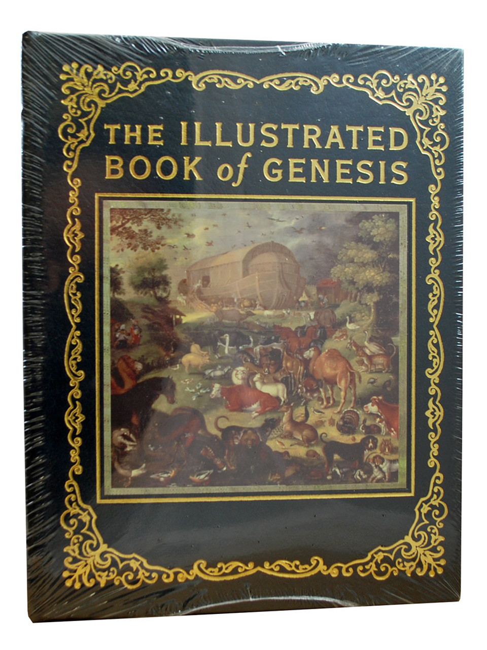 """""""The Illustrated Book Of Genesis"""" Deluxe Limited Edition,  Leather Bound Collector's Edition [Sealed]"""
