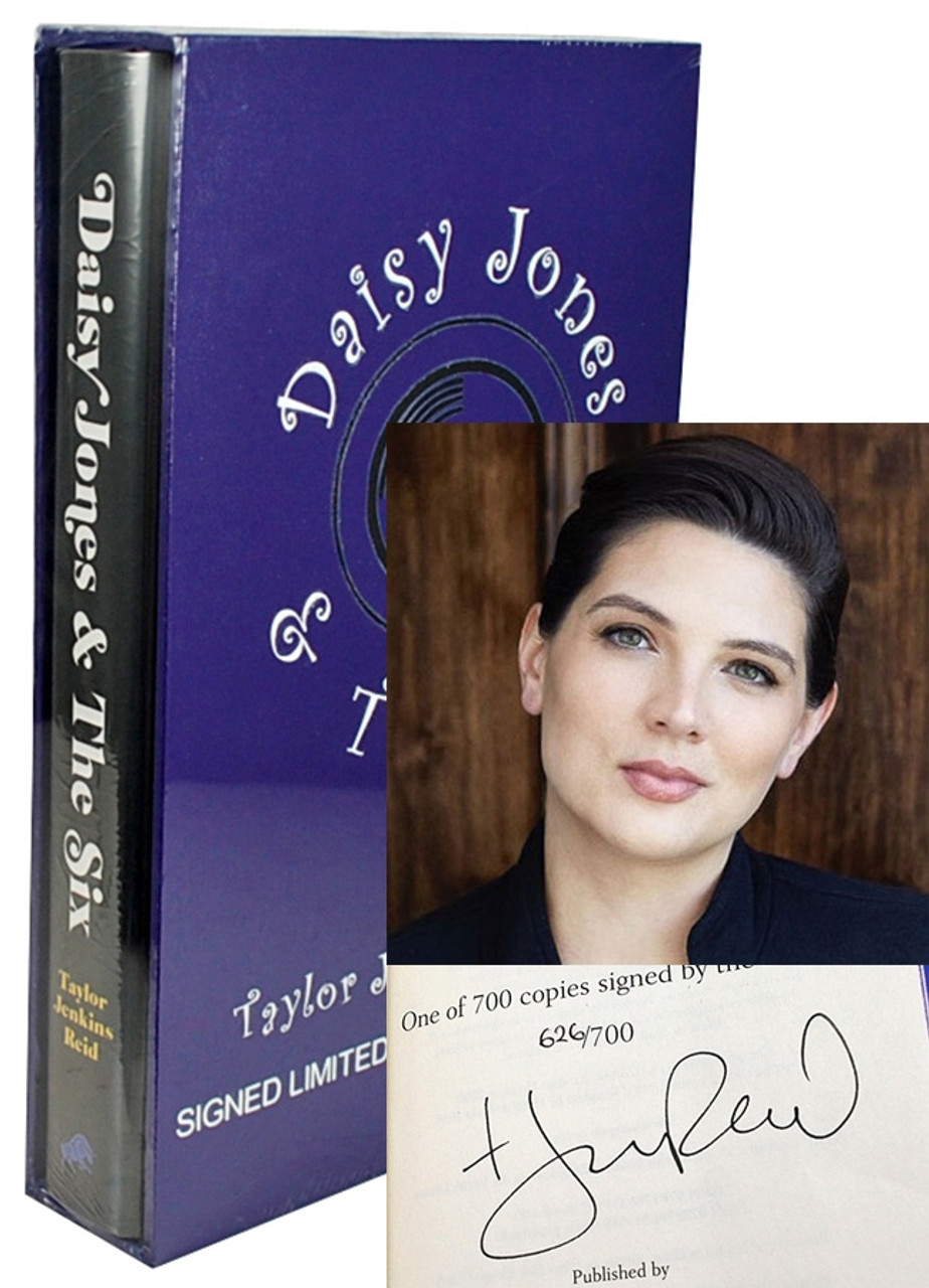 """Taylor Jenkins Reid """"Daisy Jones and The Six"""" Signed Limited Edition of 700 [Slipcased/Sealed]"""