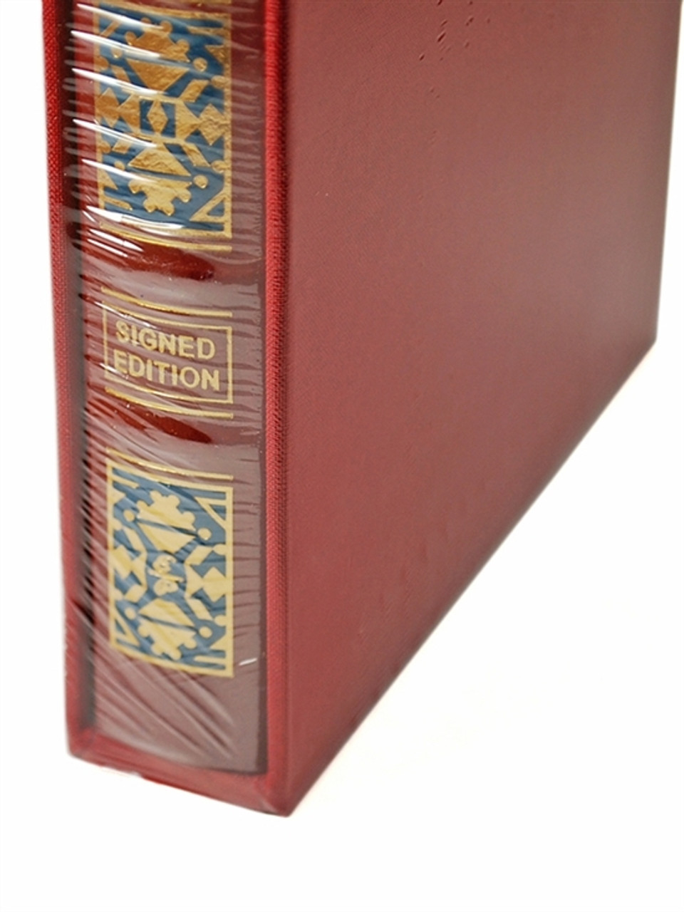 """Easton Press """"The Alchemist"""" Paulo Coelho, Signed Limited Deluxe Edition of only 1,000 Slipcased [Sealed]"""