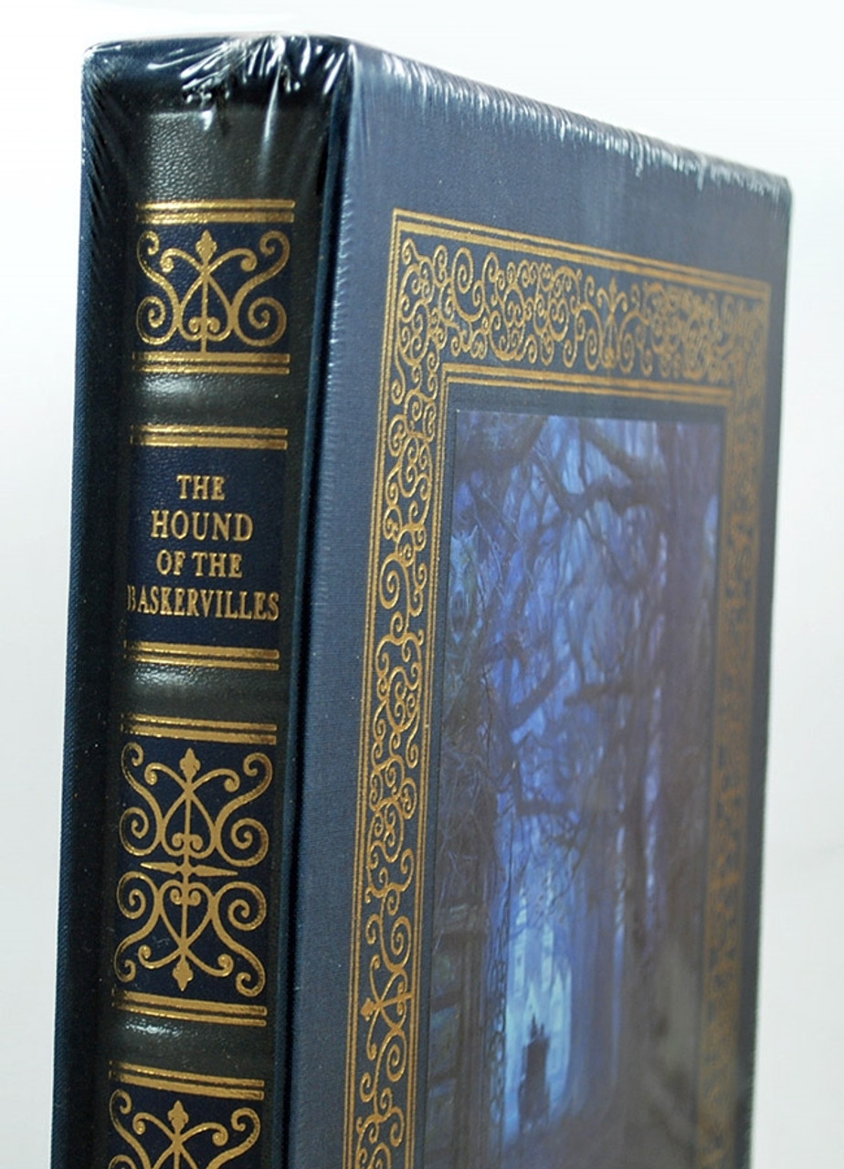 """Easton Press, Arthur Conan Doyle """"The Hound Of The Baskervilles"""" Artist Signed Limited Deluxe Edition, Leather Bound Slipcased [Sealed]"""