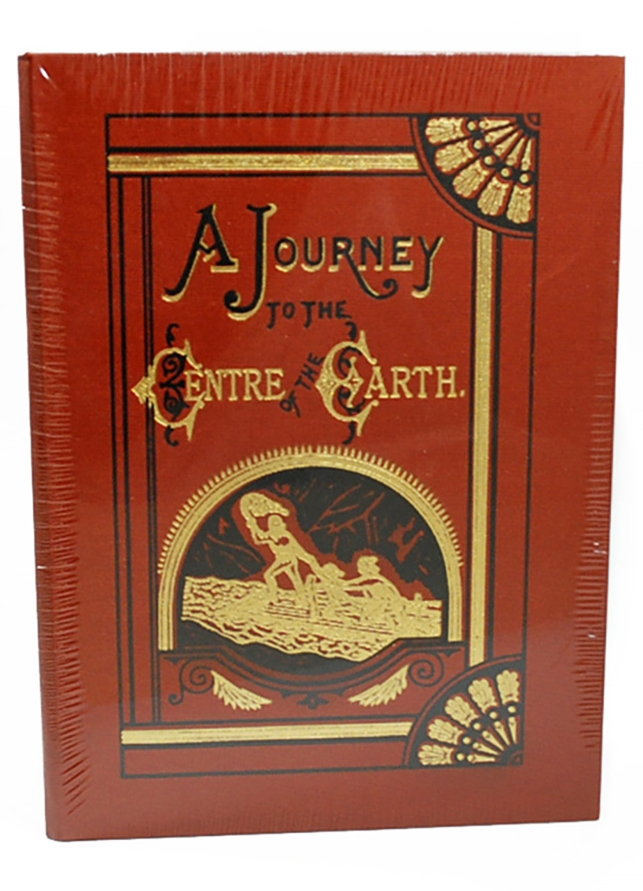 """Easton Press, Jules Verne """"A Journey To The Centre Of The Earth"""" Deluxe Limited Edition, Leather Bound, Traycased [Sealed]"""