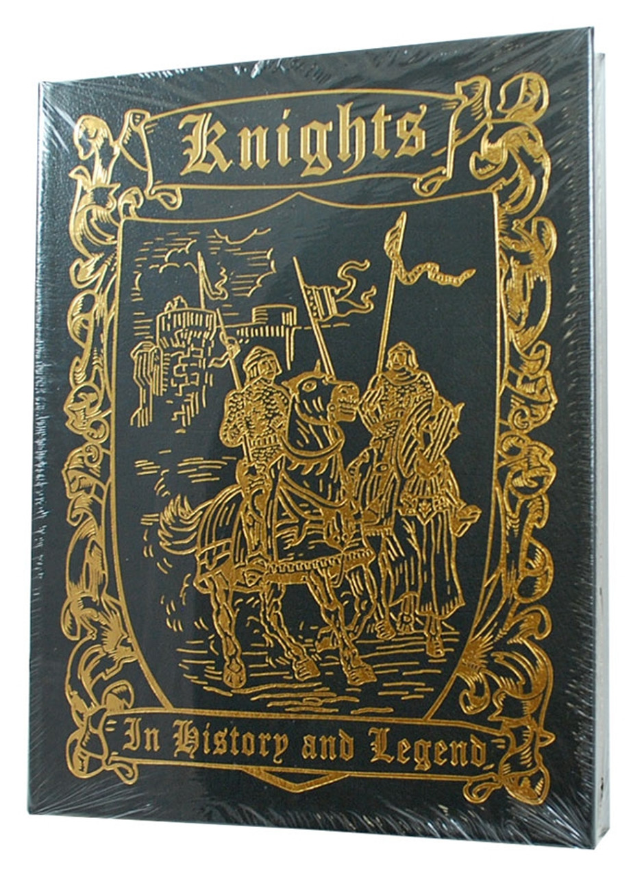 """Easton Press, Constance Brittain Bouchard """"KNIGHTS IN HISTORY AND LEGEND"""" Deluxe Limited Edition, Leather Bound Collector's Edition [Sealed]"""