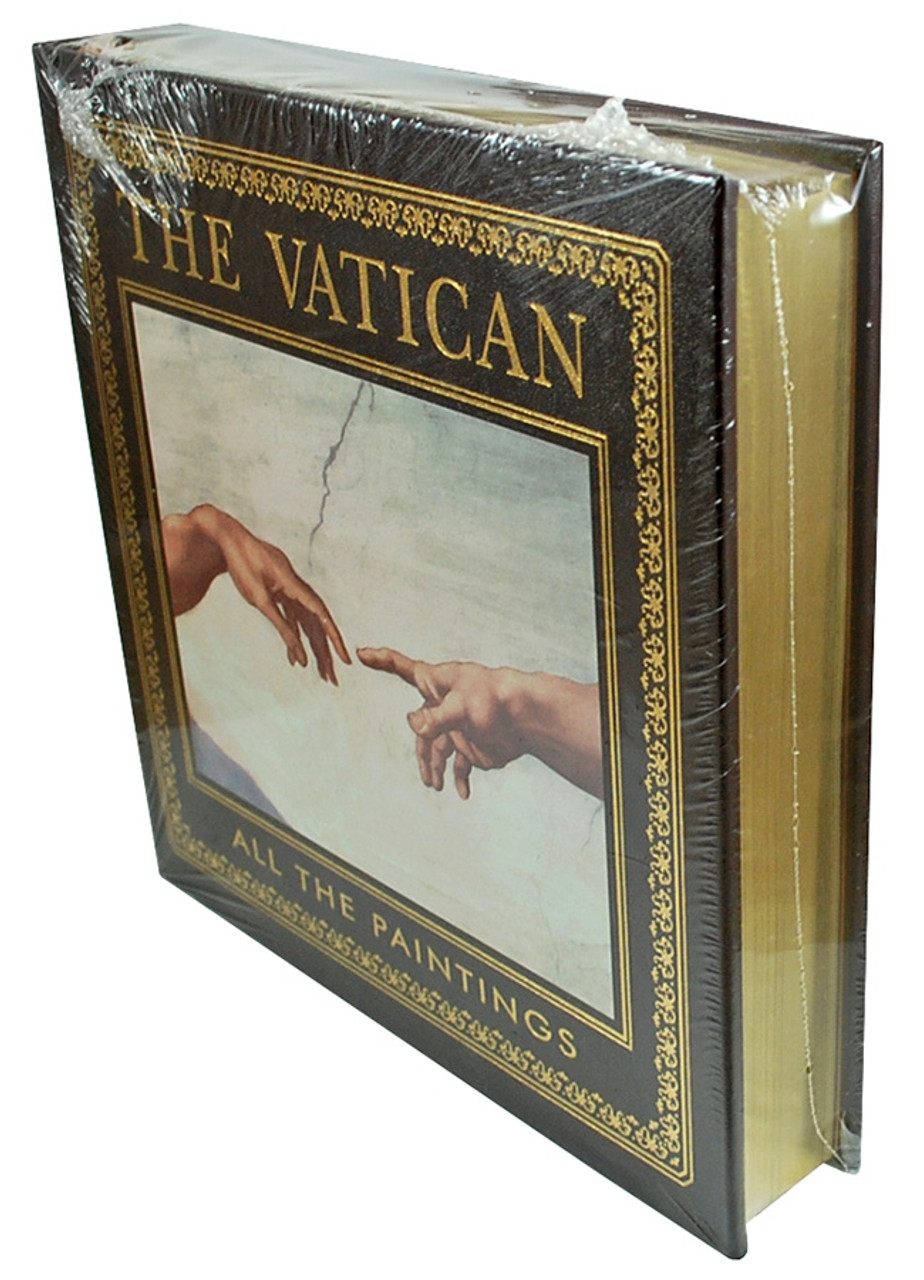 """Easton Press """"THE VATICAN: ALL THE PAINTINGS"""" Deluxe Limited Edition, Leather Bound Collector's Edition [Sealed]"""