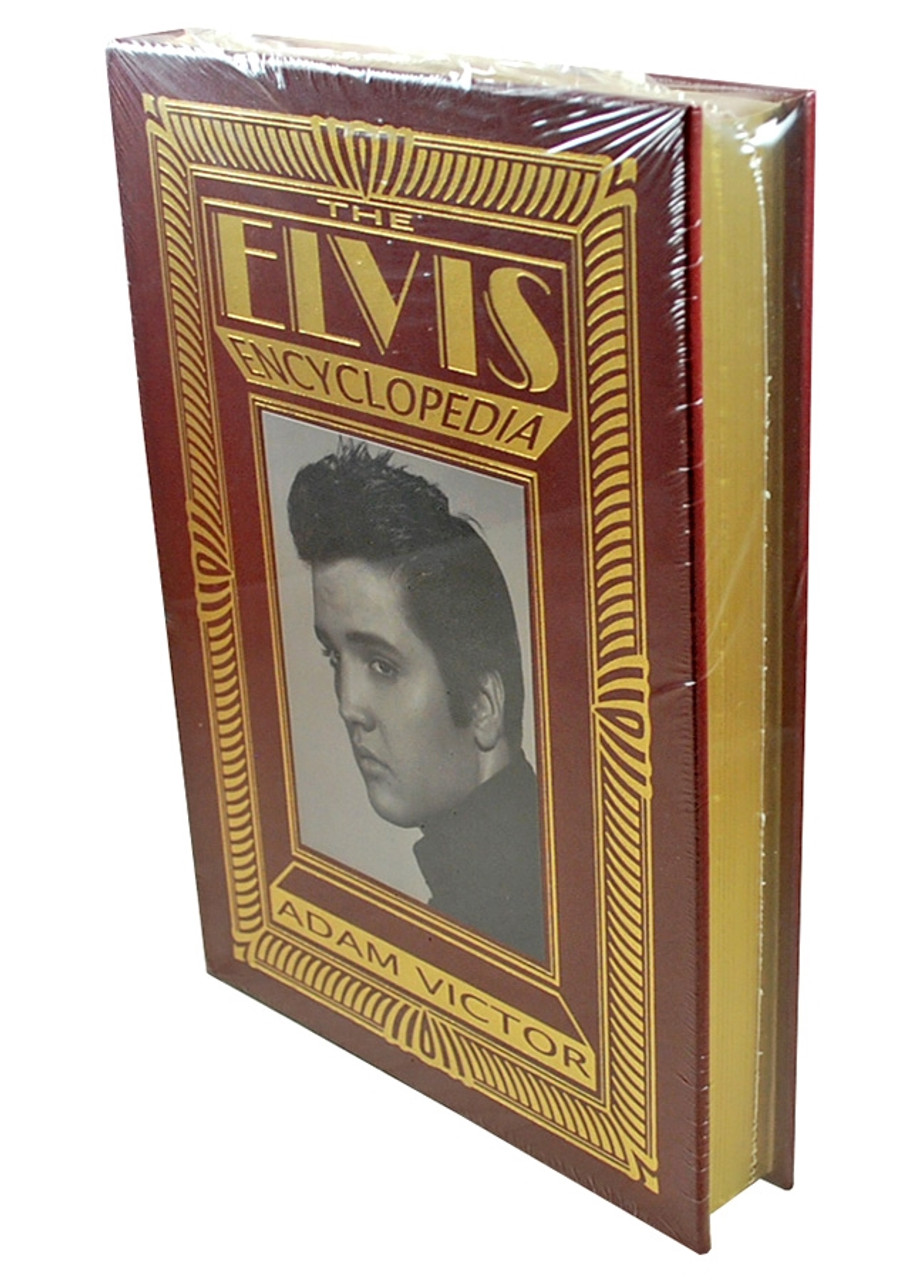 """Easton Press,  Adam Victor """"The Elvis Encyclopedia"""" Deluxe Limited Edition, Leather Bound Collector's Edition [Sealed]"""