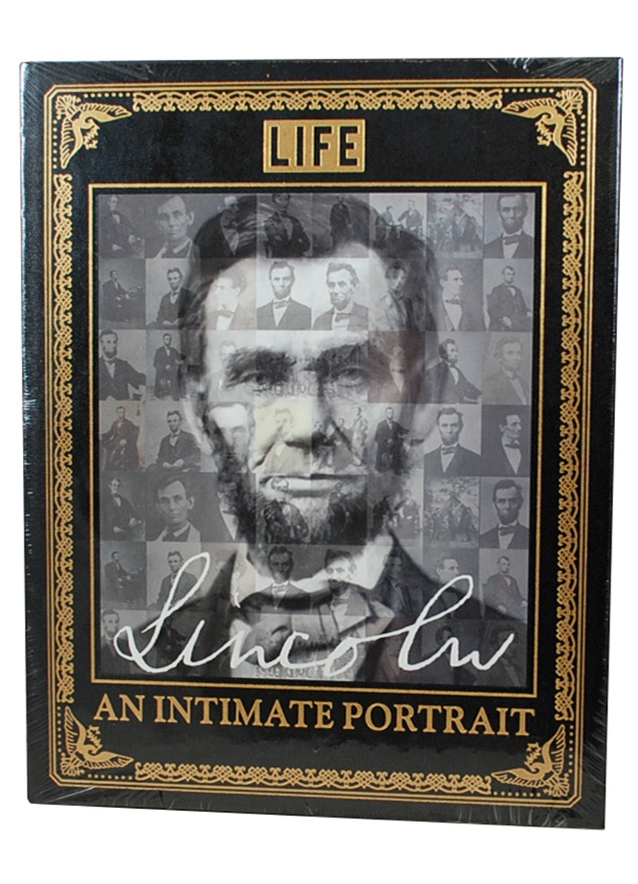 """Easton Press, LIFE """"LINCOLN: An Intimate Portrait""""  Deluxe Leather Bound Limited Edition  [Sealed]"""