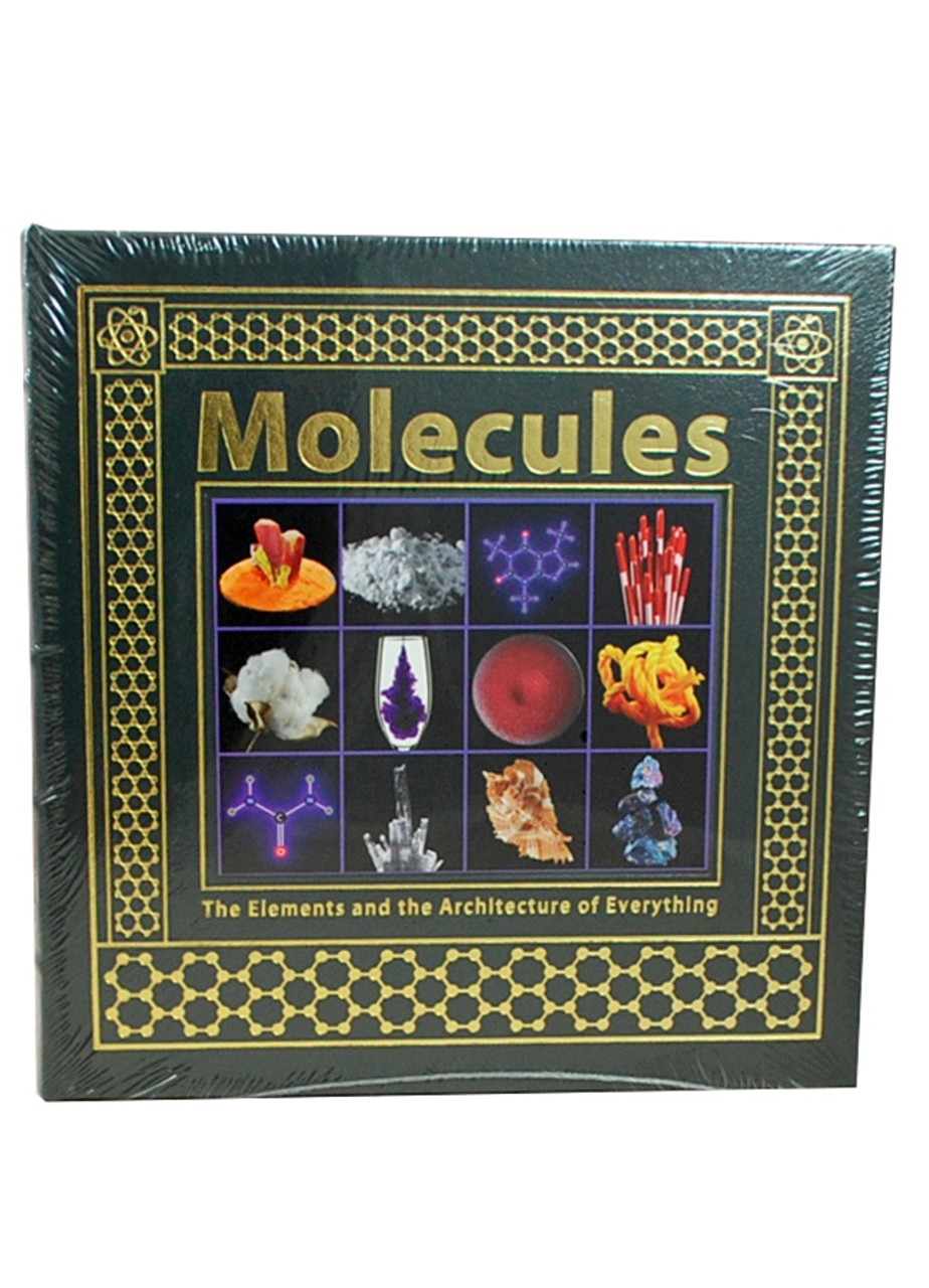 """Easton Press, Theodore Gray """"Molecules""""  Deluxe Leather Bound Limited Edition  [Sealed]"""