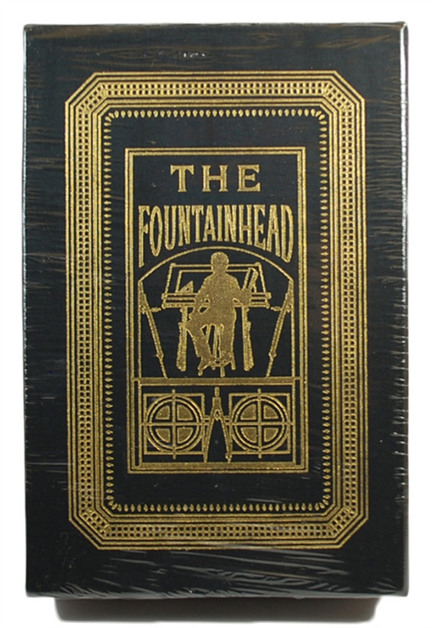 """Easton Press """"The Fountainhead"""" Ayn Rand, Deluxe Limited Edition, Slip-cased [Sealed]"""
