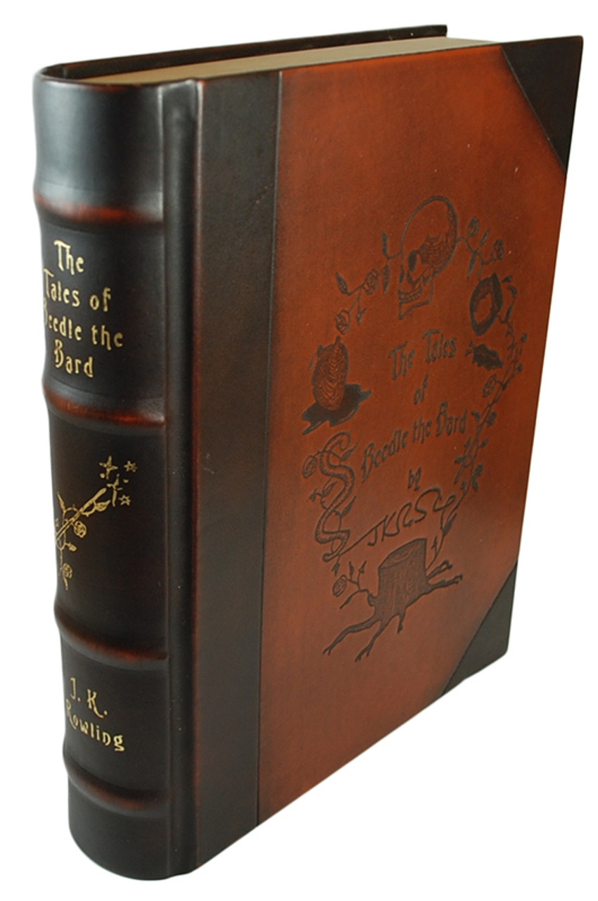 """J.K. Rowling """"The Tales of Beedle the Bard"""" Collector's Edition"""