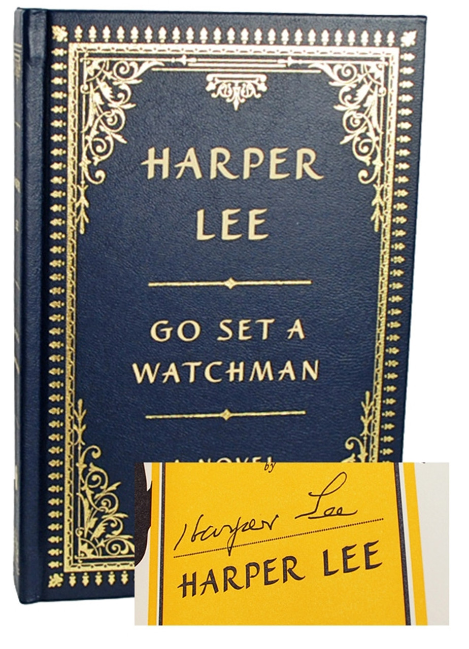 "Harper Lee ""Go Set A Watchman"" Signed Limited Edition of only 500 Tray-cased"