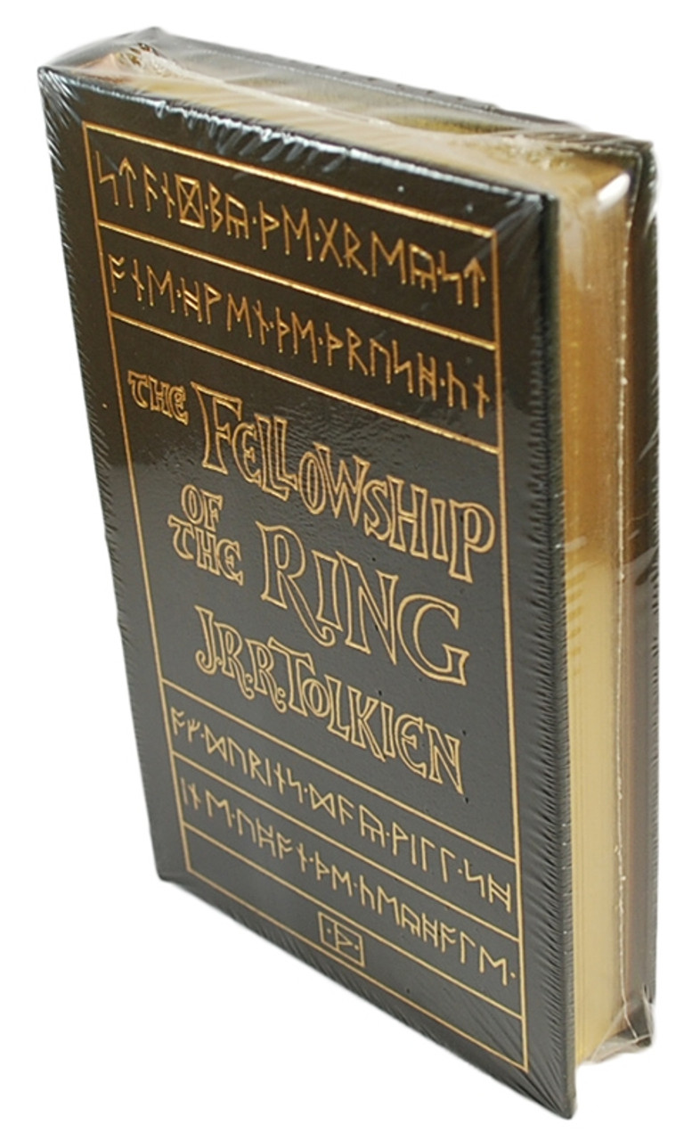 "Easton Press, J.R.R. Tolkien ""The Fellowship Of The Ring"" Leather Bound Collector's Edition [Sealed]"