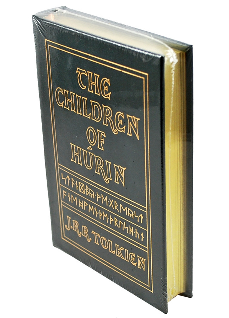"""Easton Press, J.R.R. Tolkien """"The Children of Turin"""" Leather Bound Collector's Edition"""
