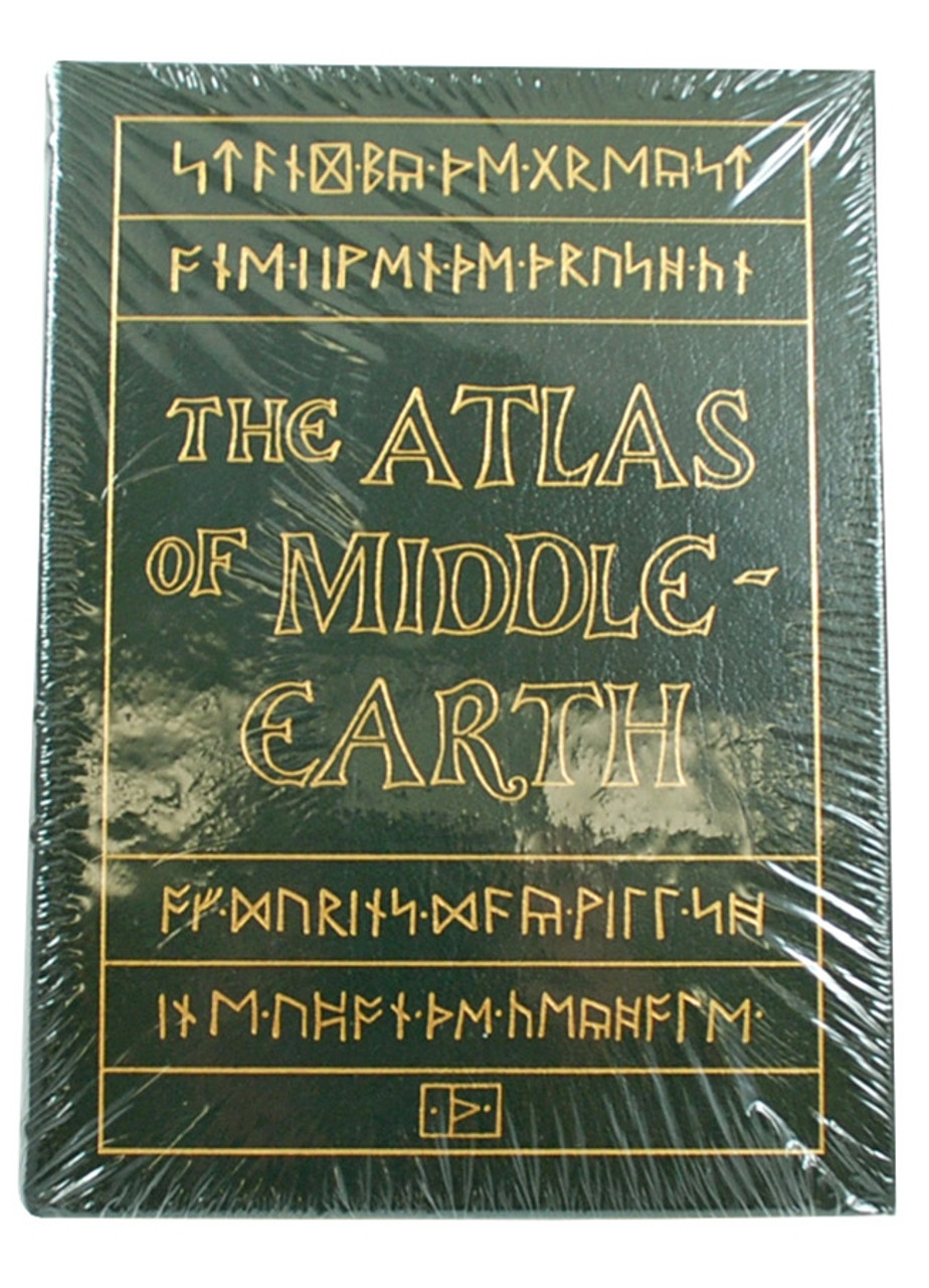 """Easton Press,  Karen Wynn Fonstad """"The Atlas Of Middle-Earth"""" Leather Bound Collector's Edition [Sealed]"""