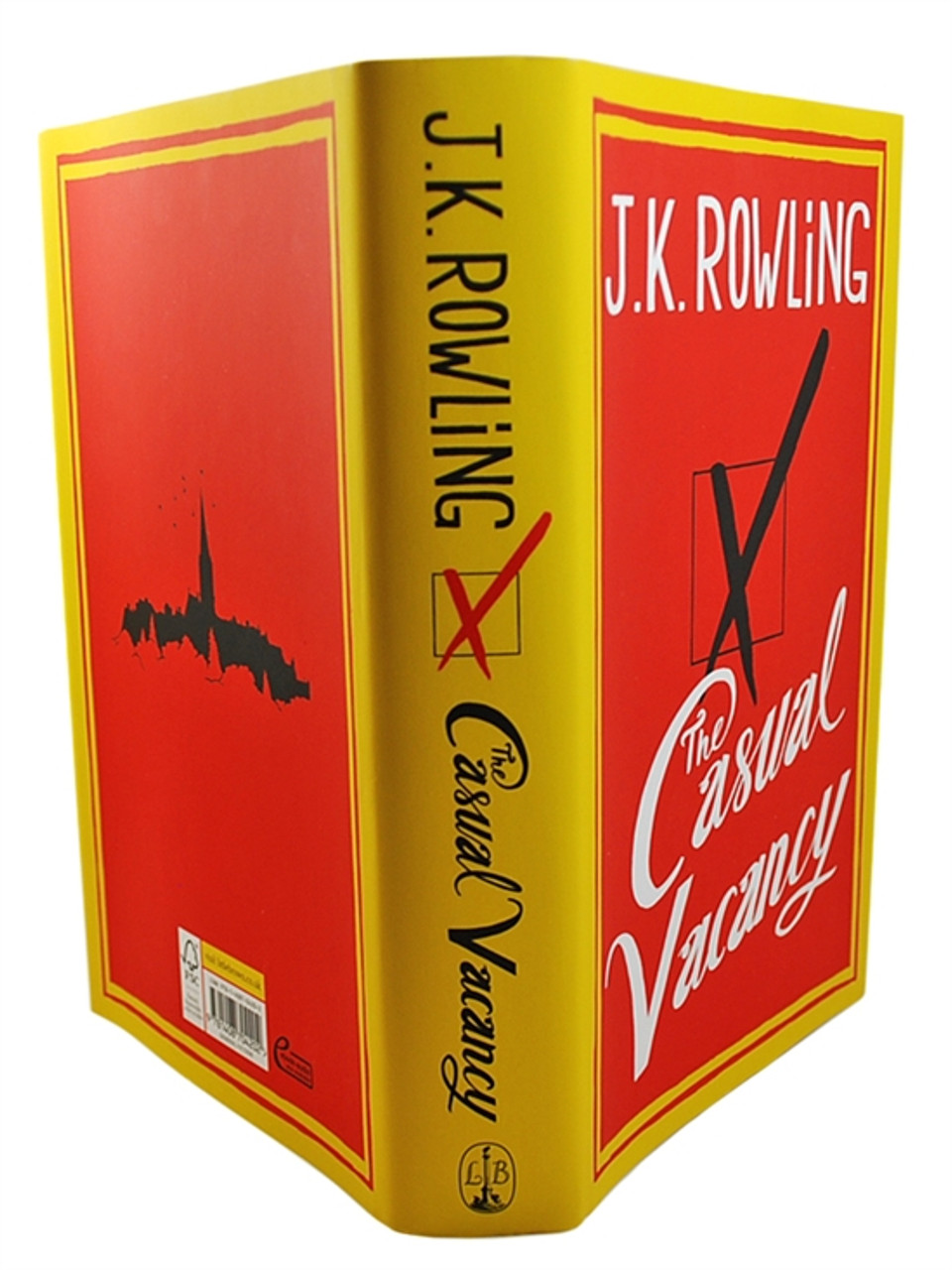 """J.K. Rowling """"Casual Vacancy"""" UK Signed First Edition, First Printing"""