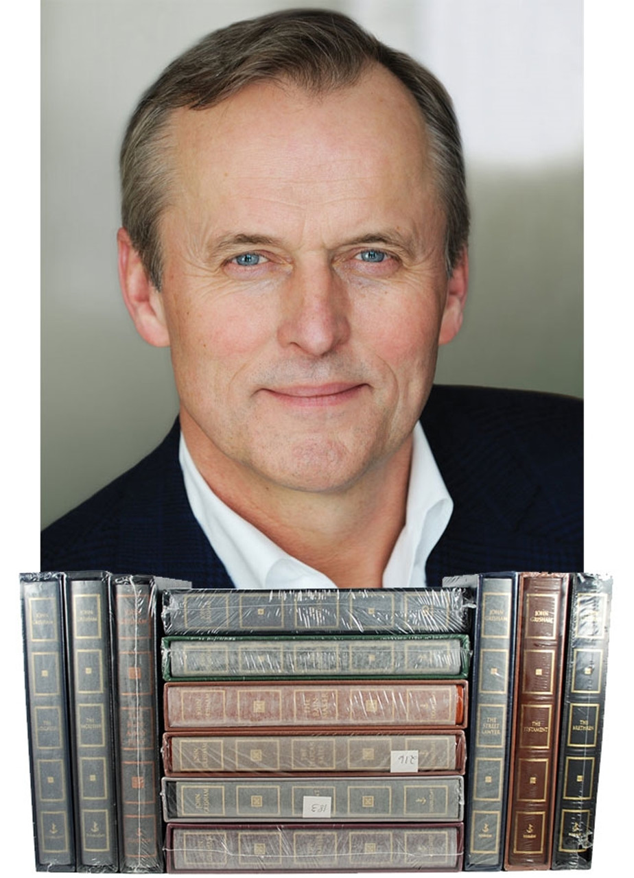 John Grisham THE IMMACULATE COLLECTION Signed Limited Edition 31 Vols, Leather Bound [Sealed]