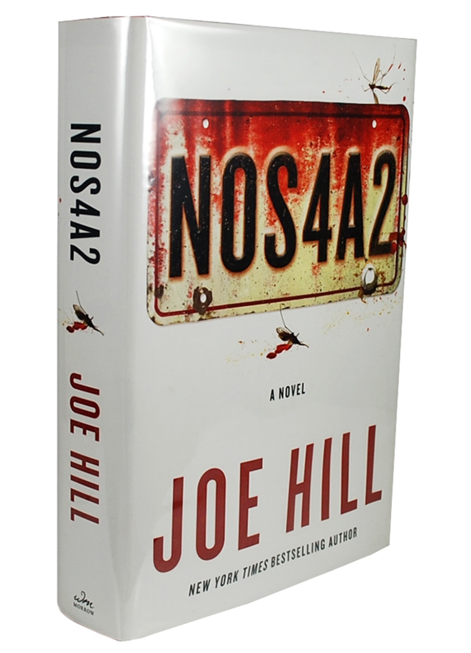 """""""NOS4A2"""" Signed First Edition, Joe Hill"""