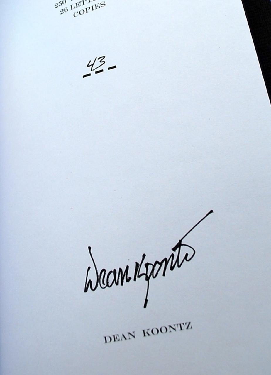 Dean Koontz THE JANE HAWK SERIES, 5-Vol. Matching Numbers Set #43 [Very Fine]