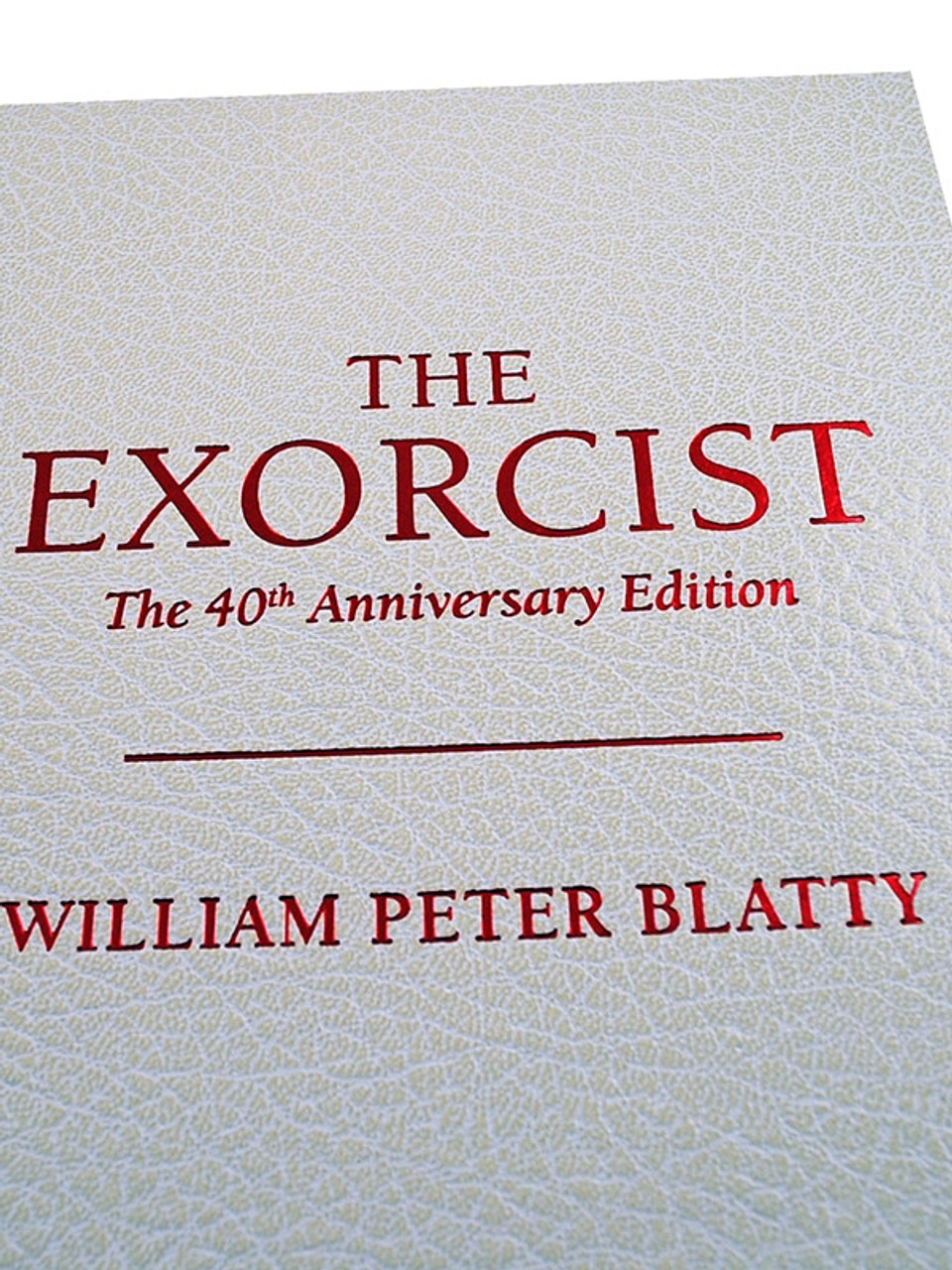 "William Peter Blatty ""The Exorcist: The 40th Anniversary Edition"" Signed Limited Edition of only 374 (As New)"