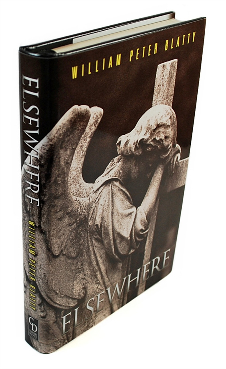 """William Peter Blatty """"Elsewhere"""" Signed Limited LETTERED Edition """"M"""" of only 52"""