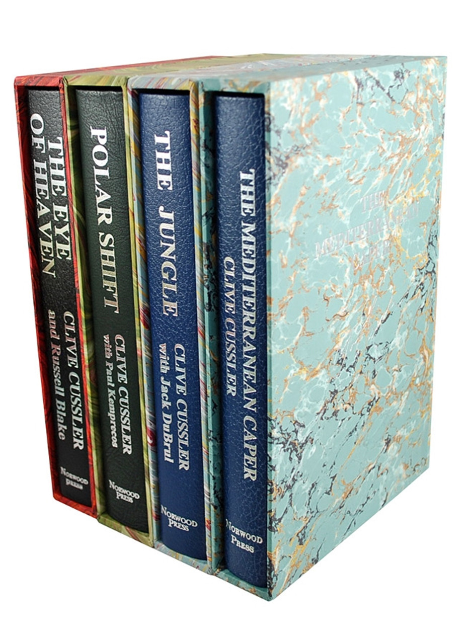 """The Clive Cussler Library, Signed Lettered Edition 61-Vol. Matching Lettered Set """"M"""""""