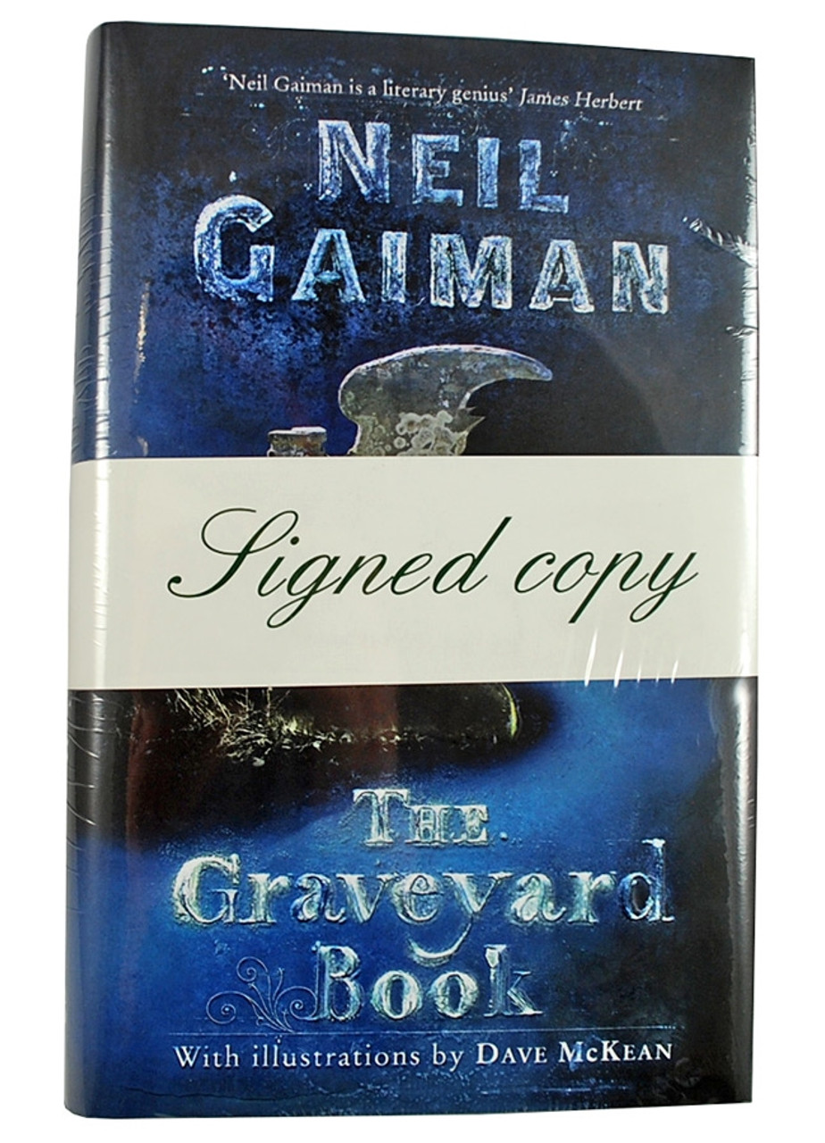 """Neil Gaiman """"The Graveyard Book"""" Signed First Edition, First Printing"""