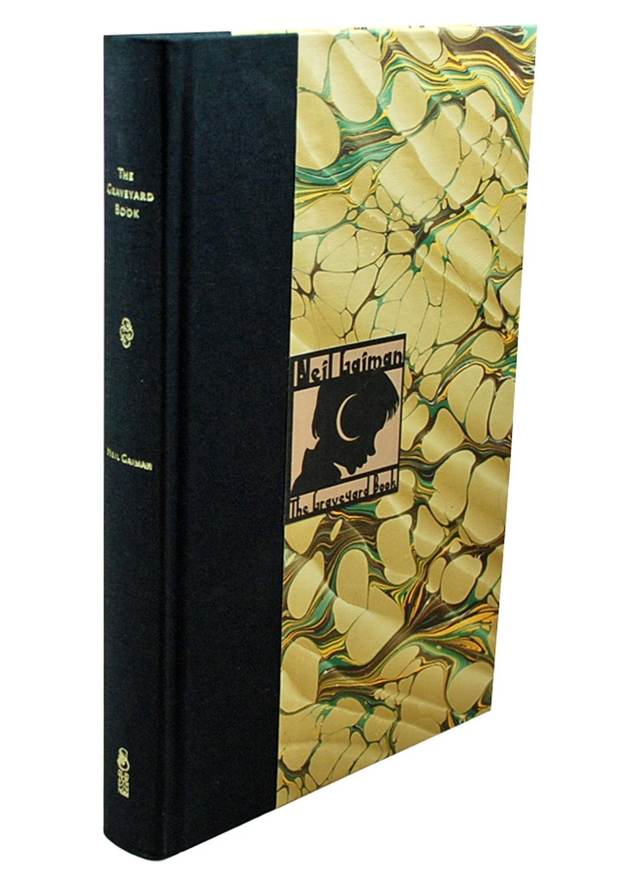 """Subterranean Press - Neil Gaiman """"The Graveyard Book"""" Signed Limited Edition No. 433/500 Slipcased"""
