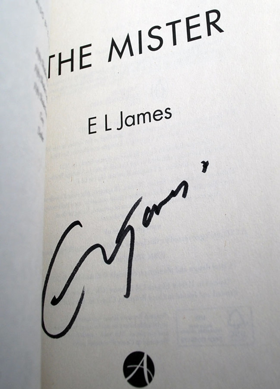 "E.L. James ""The Mister"" UK Signed First Edition, Slipcased [Sealed]"