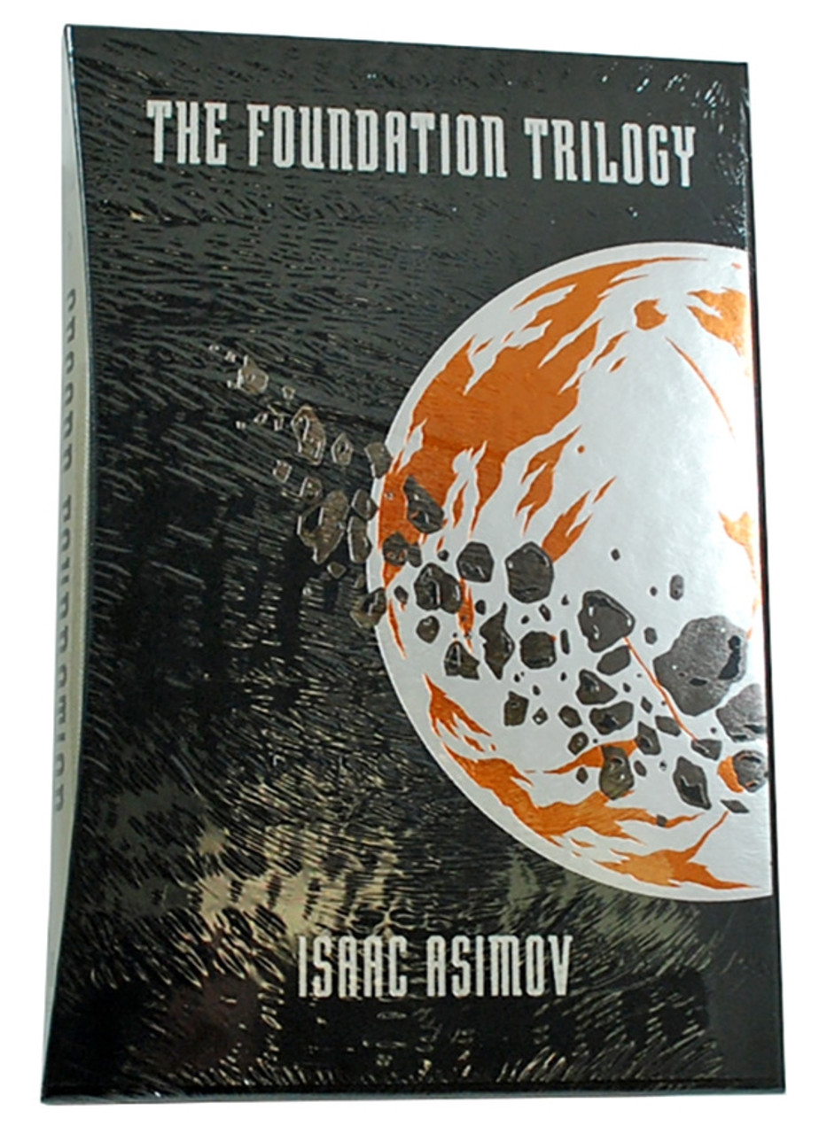 """Folio Society -  Isaac Asimov """"The Foundation Trilogy """" Limited Edition, Collector's Edition 3-Vol. Set [Sealed]"""