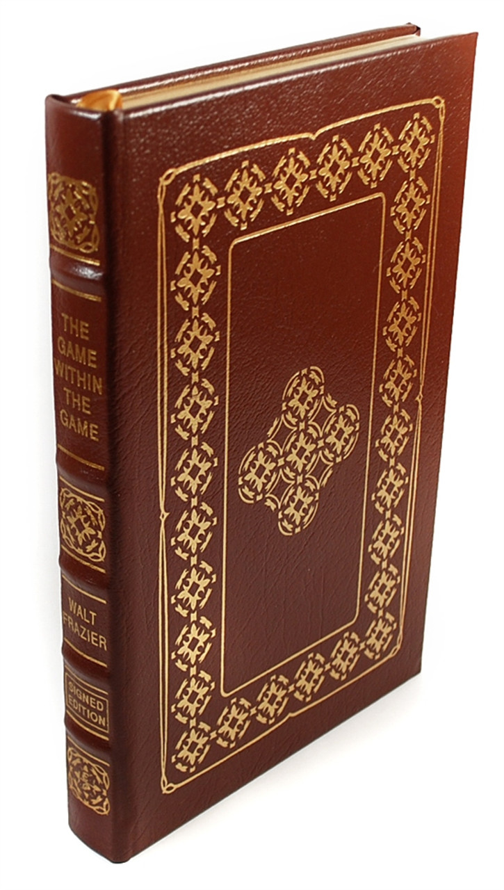 """Easton Press, Walt Frazier """"The Game Within The Game"""" Signed Limited Edition (Very Fine)"""