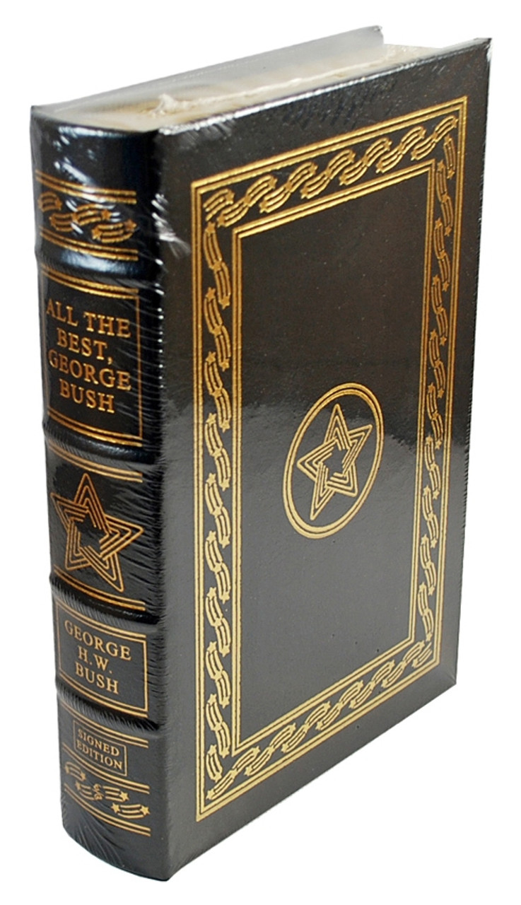 "Easton Press - George Bush ""George Bush, All The Best"" Signed Limited Edition w/COA [Sealed]"