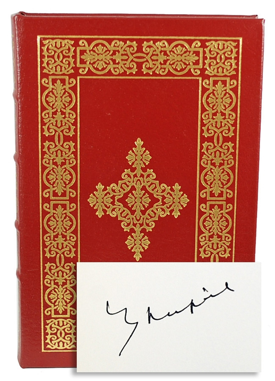 """Easton Press, V. S. Naipaul """"A Bend in the River"""" Signed Limited Edition [Very Fine]"""