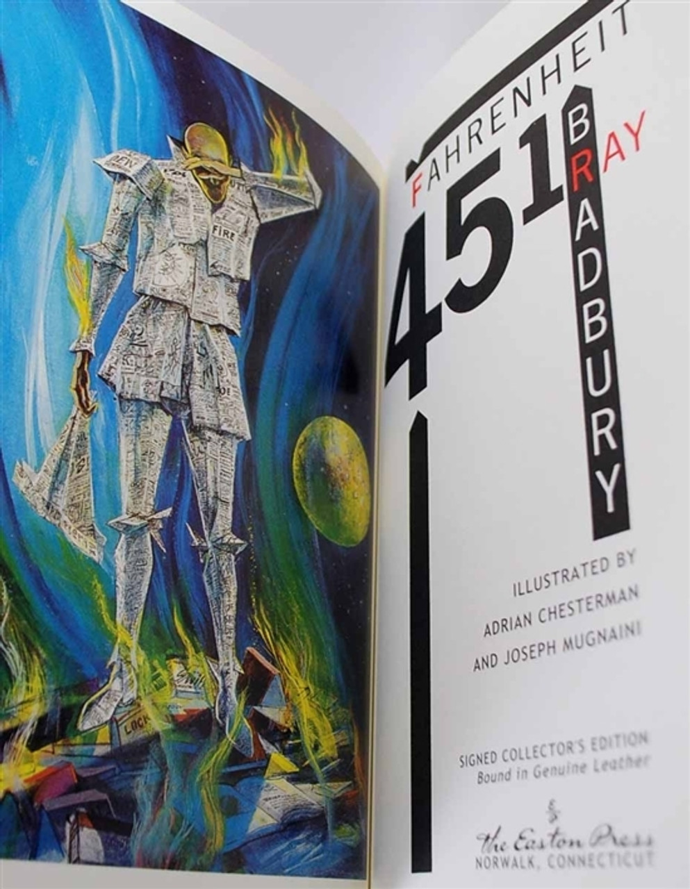 """Ray Bradbury """"Fahrenheit 451"""" Signed Limited Deluxe Edition of 700 in Slipcase (Sealed)"""