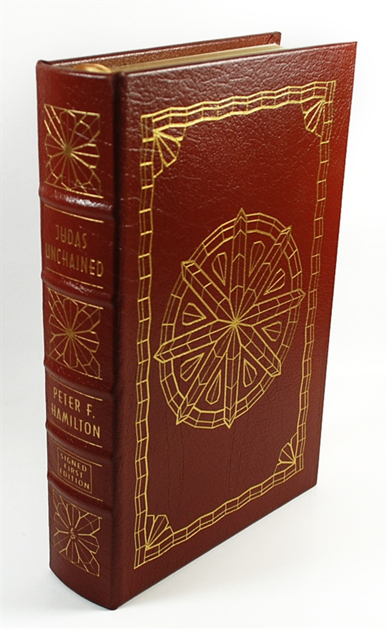 "Easton Press, Peter F. Hamilton ""Judas Unchained"" Signed First Edition w/COA (Very Fine)"