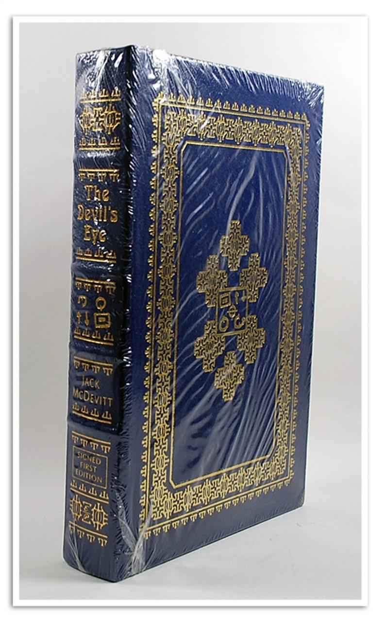 """Easton Press, Jack McDevitt """"The Devil's Eye"""" Signed First Edition w/COA (Sealed)"""